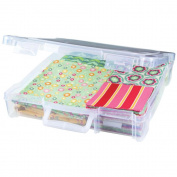 ArtBin Essentials Box w/ Handle, 30cm x 30cm , Translucent Clear