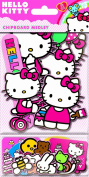Sandylion Hello Kitty Chipboard Medleyth Glitter Sticker