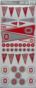 Sports Solution Ohio State Pennant Decorative Sticker