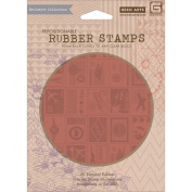 Basic Grey Carte Postale Cling Stamps By Hero Arts-Let's Get Away
