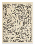 Stampendous Wood Handle Stamp