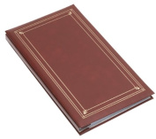 Pioneer Slim Line Post Style Pocket Album, Burgundy