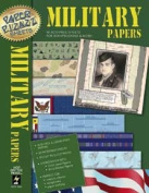 16 Military Scrapbooking Papers Pizazz HOTP AFLF