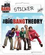 The Big Bang Theory - Cast Die Cut Vinyl Sticker Decal