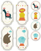 Studio Oh! Gift Tags and Stickers Set, Jubilee