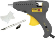 STANLEY HOBBY KIT DUAL TemPerature GLUE sticks and GUN Set Mini DualMelt with HOBBY KNIFE