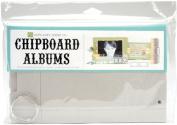 Echo Park Paper Chipboard Album 6'X10' Rectangle