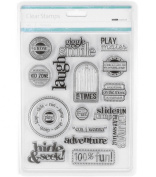 Kaisercraft Clear Stamps - Kidzone