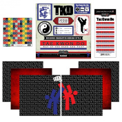 Scrapbook Customs Go Big Tae Kwon Do Themed Paper and Stickers Scrapbook Kit