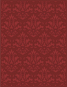 Craftwell USA Sophisticated Teresa Collins Embossing Folder, 22cm by 30cm