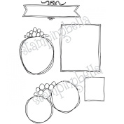 Stamping Bella Unmounted Rubber Stamp-You've Been Framed