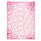Sizzix Thinlits Die-Lace Pattern Card Front
