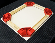 Hahnemuhle Gallerie Wrap Pro Set of 4 Pro Positioning Corners with Pins & Glue - for One Frame