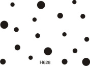 Easy Dot Background Rubber Stamp By DRS Designs