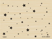 Starry Background Rubber Stamp By DRS Designs