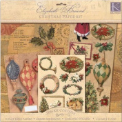 K and Company Elizabeth Brownd Scrap Kit - Holiday Traditions