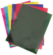 Pkg(6) 20cm x 28cm Gels. Yellow, Magenta, Deep Green, Indigo, Blue, Red.