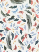 Feather Collection Decorative Gift Wrap Paper