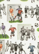 Soccer Football Decorative Gift Wrap Paper