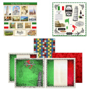 Scrapbook Customs Themed Paper and Stickers Scrapbook Kit, Italy Sightseeing
