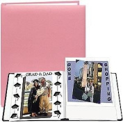 SOFT-PINK E-Z LOAD 8½x11 Scrapbook by Pioneer - 8.5x11