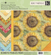 K & Company Scrapbooking Paper Pad, Tim Coffey Foliage Classic Designer
