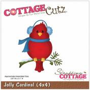 CottageCutz Die 10cm x 10cm -Jolly Cardinal