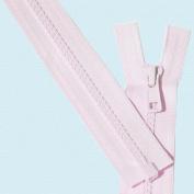 36cm Vislon Zipper ~ YKK #5 Moulded Plastic ~ Separating - 512 Baby Pink
