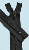 50cm Boot Zipper YKK #5 Nylon Coil ~ Closed End ~ YKK Colour 580 Black