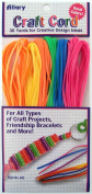 Allary Craft Cord, Assorted Colours, 36 Yards Of Cord