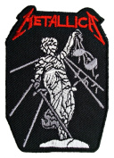 METALLICA Songs Band t Shirts MM19 Iron on Patches