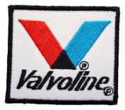 Valvoline Oil maxlife Lubricants Nascar Logo Shirt GV03 Patches