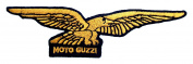 Moto Guzzi Motorcycles Logo Jackets BM08 Iron on Patches