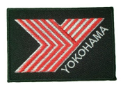 Yokohama Motorcycle Truck Tyres Emblem PY03 Iron on Patches