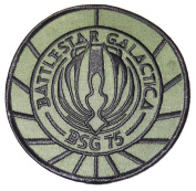 BATTLESTAR GALACTICA BSG-75 UNIFORM LOGO PATCH