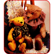 OOP McCall's Craft Pattern 8506. 38cm & 60cm Stuffed Jointed Bears