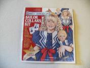 Daisy Kingdom Sailor Collars Kit #N20404NW