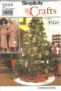Simplicity 9348 Crafts Christmas Sewing Patterns