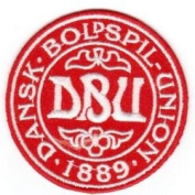 Denmark Danska 1889 Football Round Fifa World Cup Soccer Iron on 7.6cm Patch Crest Badge ... New