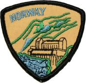 E618 Norway Country Travel Souvenir Patch