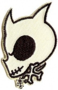 Illicit Martin Emond Tattoo Patch - 7.6cm Death Dog Skull