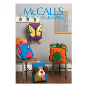 McCall Pattern Company M6808 Backpacks Sewing Template, One Size Only