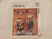 MCCALL'S CRAFTS 6558 A MOO-VING TALE (STUFF-N-STITCHES BY LIZ HANSEN) 1993