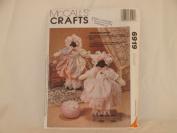 MCCALL'S CRAFTS PATTERN 6919 (LITTLE MISS MUFFET LAMBS) 1994