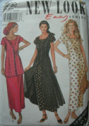 MISSES LONG DRESSES WITH VARIATIONS SIZES 12-14-16-18-20-22-24 EASY NEW LOOK SEWING BY SIMPLICITY 6230