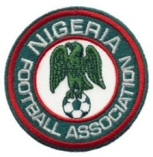 Nigeria Football Association Round Fifa World Cup Soccer Iron on 7.6cm Patch Crest Badge ... New