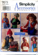 Simplicity Accessories and Wearable Art Hats, Muff and Bags Sewing Pattern 9079