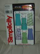 """Simplicity Sewing Pattern #14050cm It's So Easy"""" - Misses' Dress"""