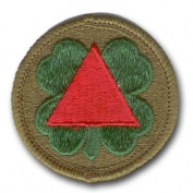 "U.S. ARMY 13th CORPS 2¼"" MILITARY PATCH"