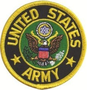 U.S. Army 7.6cm Embroidered Patch